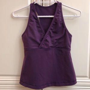 Lululemon purple tank top 🍋